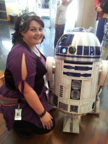 R2-D2 and me!