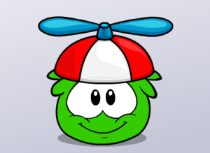Apparently green ball went caving  http://clubpenguin.wikia.com/